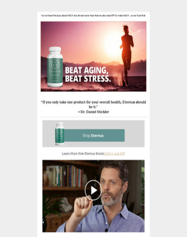 Fact: NAD+ Decreases As We Age