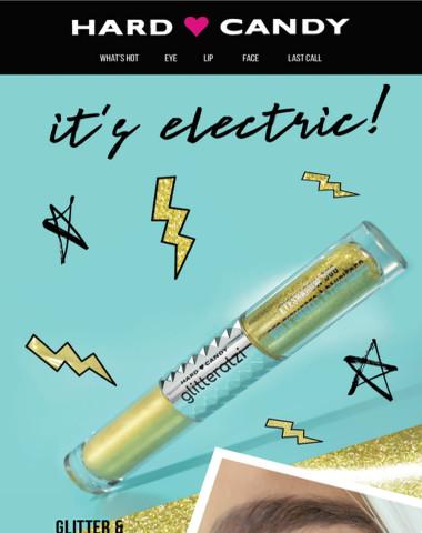 It's Electric! ⚡️Glitter & Chrome Eye Duos
