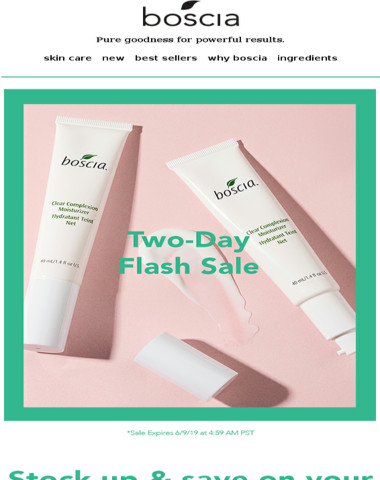 It's a Two-Day Flash Sale!?