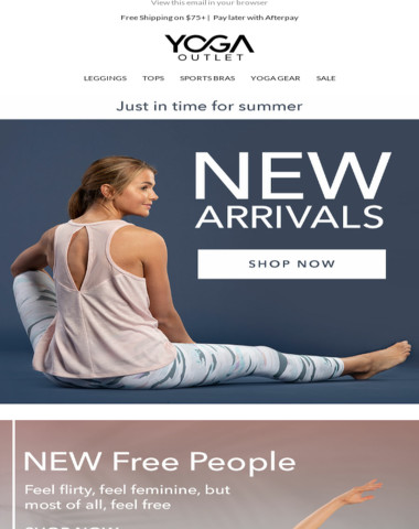 See what's NEW from Free People, Spiritual Gangster + MORE!