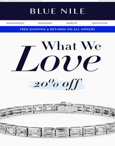 3 Days Left! 20% Off Our Most Loved Bracelets