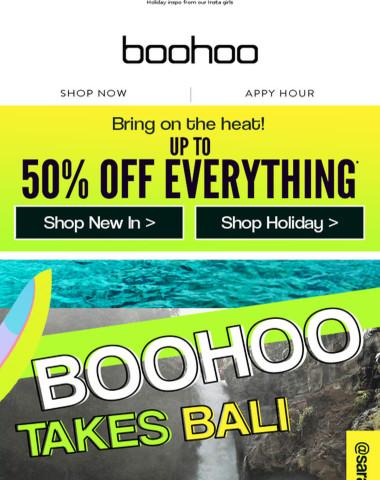 Boohoo Takes Bali ?