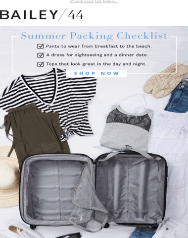 Vacation Checklist: Do You Have These?