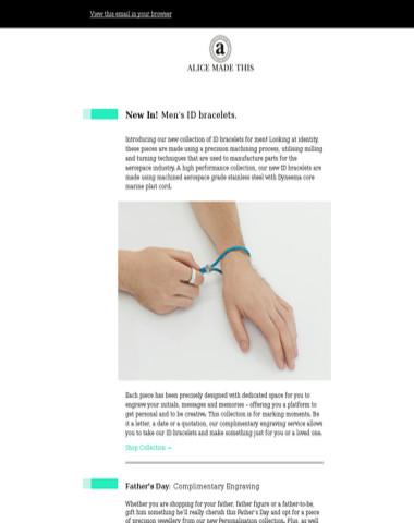 NEW IN! Men's ID bracelets