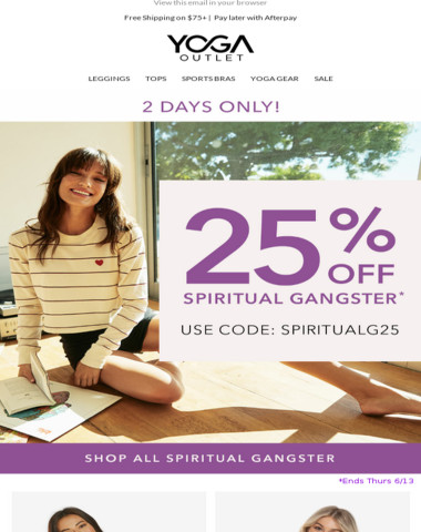 25% OFF Spiritual Gangster [2 DAYS ONLY]