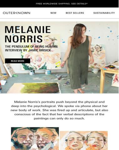 MEET ARTIST MELANIE NORRIS