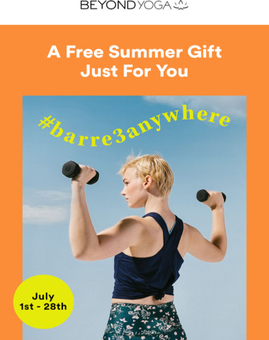 Set The BARRE Higher This Summer