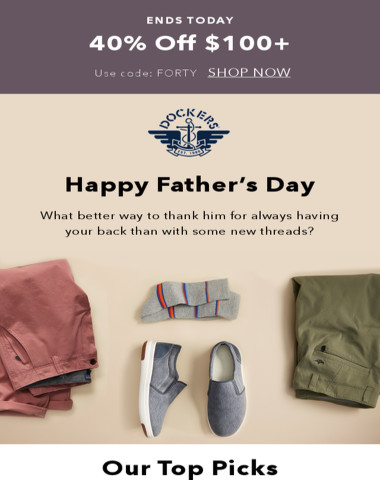 It's not too late to get something for Dad