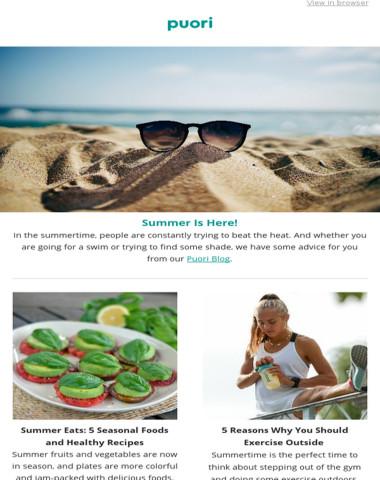 Summer inspiration—delivered! ✨