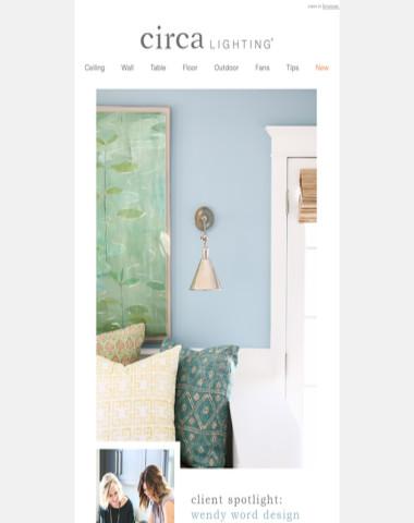 client spotlight: wendy word design