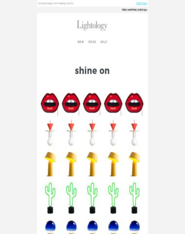 ? SHINE ON ?