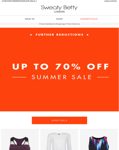 Now up to 70% off! Don't miss out...