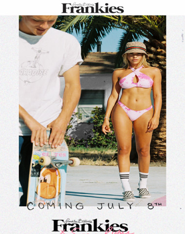 TOMORROW: Sofia Richie X Frankies Bikinis