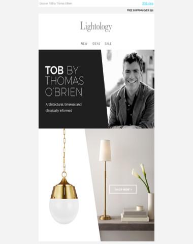 Introducing: TOB by Thomas O'Brien