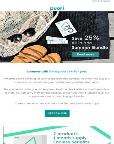 ☀️Summer Discount! - 25% OFF on Health Essentials + Probiotics & Prebiotics