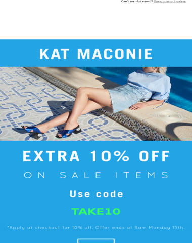 Extra 10% off SALE ?