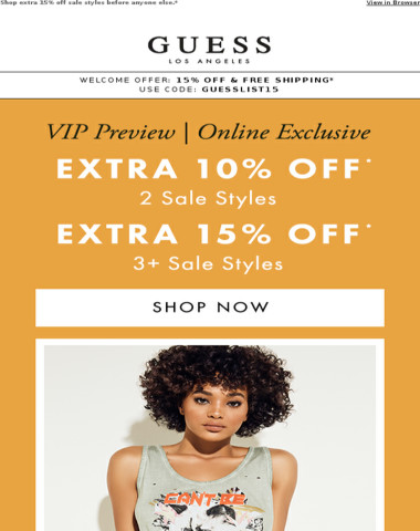 VIP Preview / Online Only