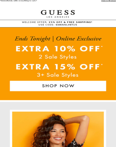Sale on Sale | Ends Tonight