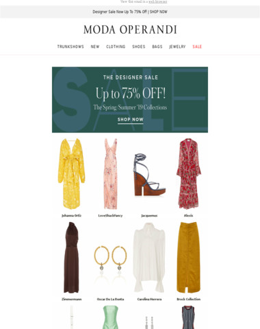 FINAL. MARKDOWNS. Up to 75% Off
