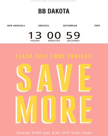 Sitewide Savings End TONIGHT! ⏳