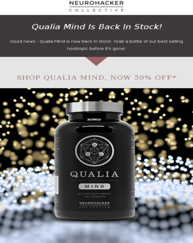 Qualia Mind Is Back In Stock!
