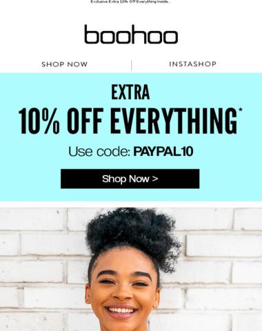 Introducing boohoo x PayPal ?
