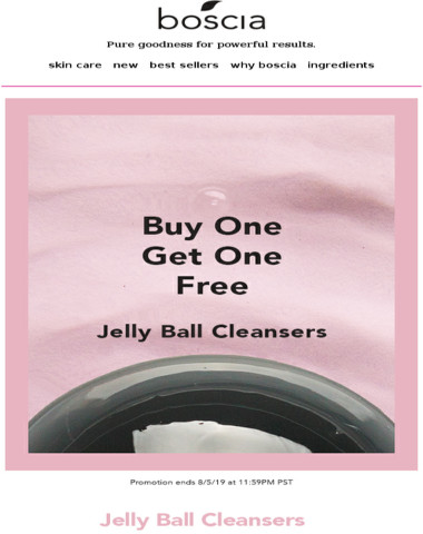Make your skincare routine more interesting with a FREE jelly ball cleanser! ?