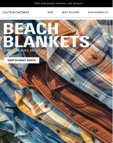HEADS UP! NEW BLANKETS