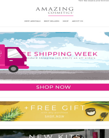 It's FREE SHIPPING Week!