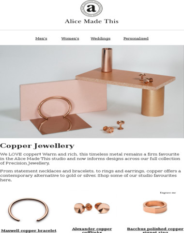 We LOVE Copper Jewellery!
