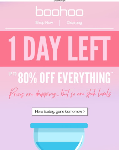 SALE - 1 DAY LEFT ?