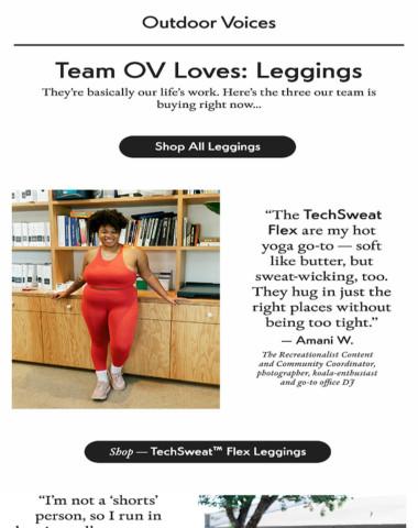 Team OV Loves: Leggings