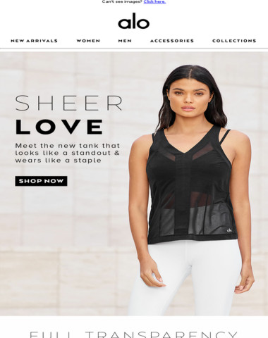 Sheer Obsession: Your New Fave Tank