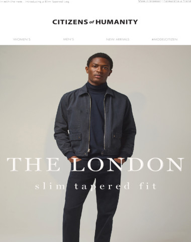 For Him: The London