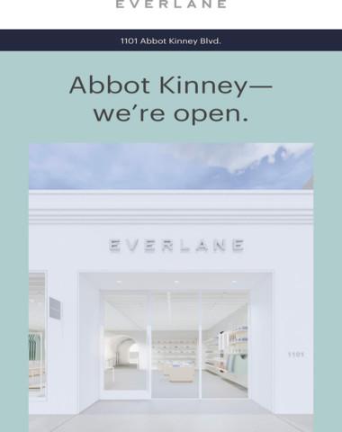 LA: We're Open