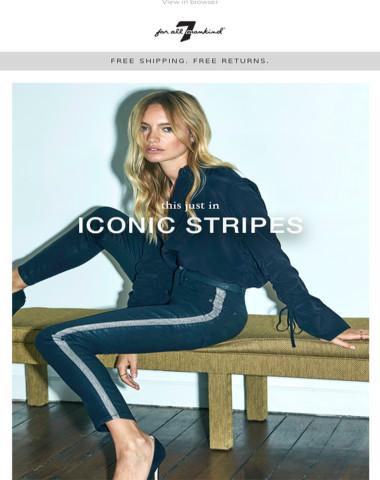 Fall Must-Have | New Side Stripe Denim