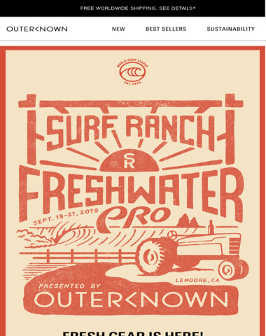FRESHWATER PRO - GET YOUR GEAR & TIX!