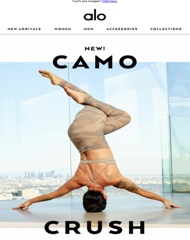This NEW Camo Legging ❤️