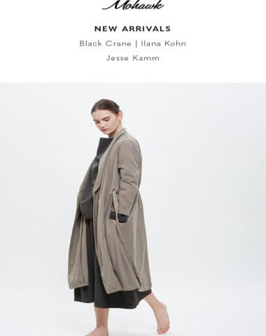 NEW ARRIVALS   Black Crane, Ilana Kohn & Jesse Kamm