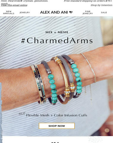 Introducing our Newest #CharmedArms Styles ✨