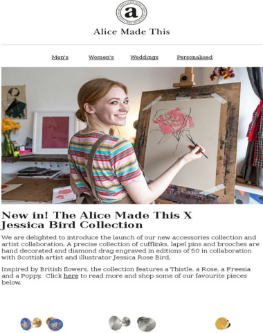New in! The Alice Made This X Jessica Rose Bird Collection