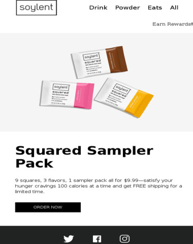 Squared sampler packs are here.