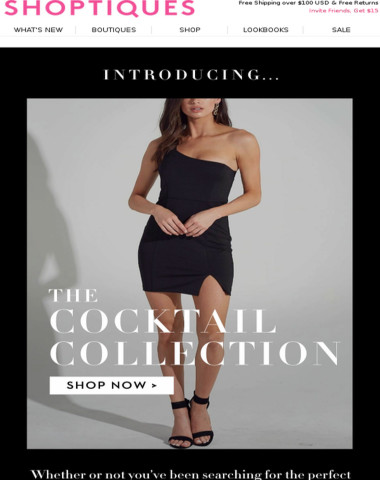 JUST LAUNCHED: The Cocktail Collection