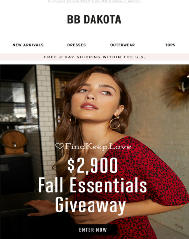 You can win $2,900+ from these amazing brands! ?
