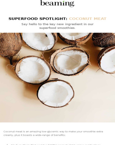 Superfood Spotlight: Coconut Meat
