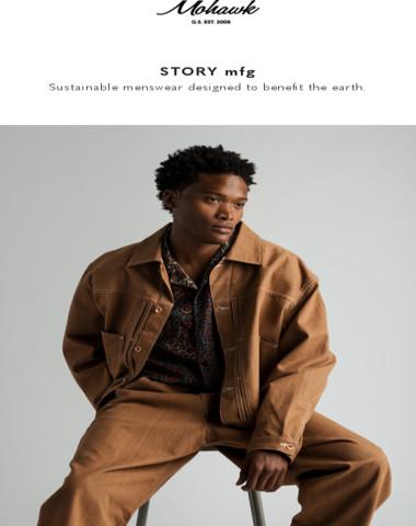 NEW THIS SEASON: Story mfg.