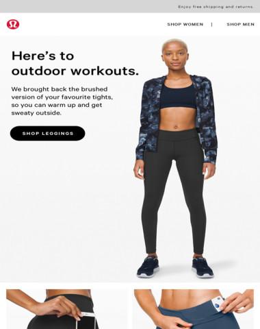 Those leggings you like, but warmer