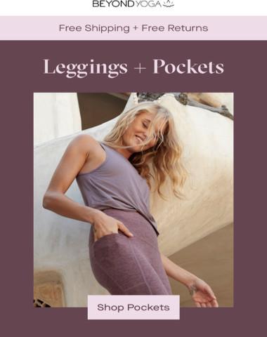 Leggings + Pockets