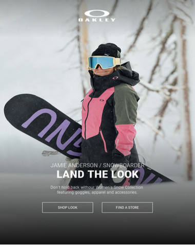 Women's Snow Collection - Land The Look