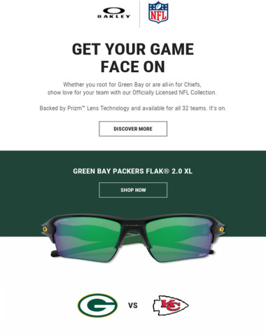 Packers Vs Chiefs. Ready To Get Your Game Face On?